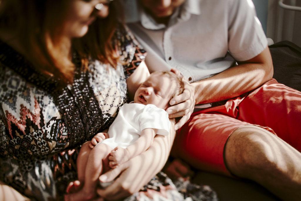sesje noworodkowe w domu