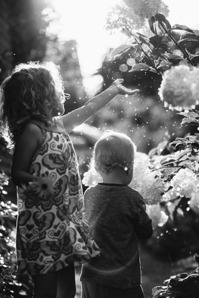 letni portret dzieci
