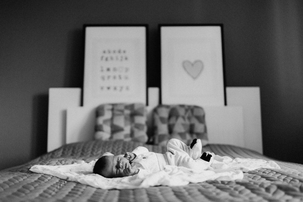 sesje rodzinne z noworodkiem w domu